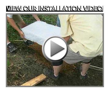 installing landscaping steps