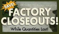 Factory Closeout Discount  Landscaping Rock Stpes