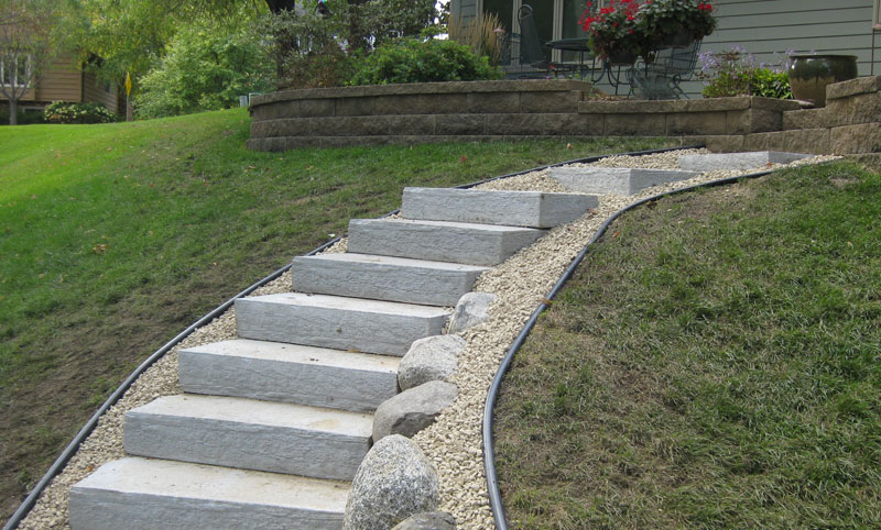 Gallery Quick Links Landscaping Steps